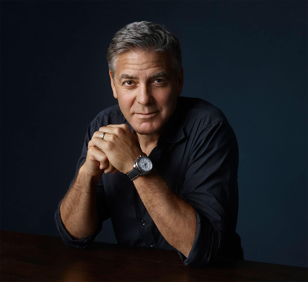 George Clooney - Houston Speedmaster Event