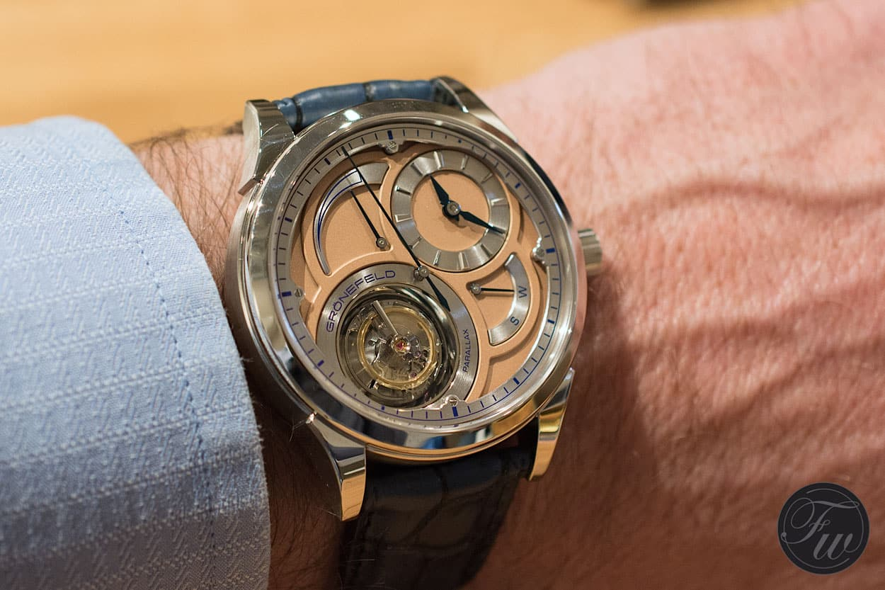 Grönefeld Parallax Tourbillon - Top 5 BaselWorld Watches