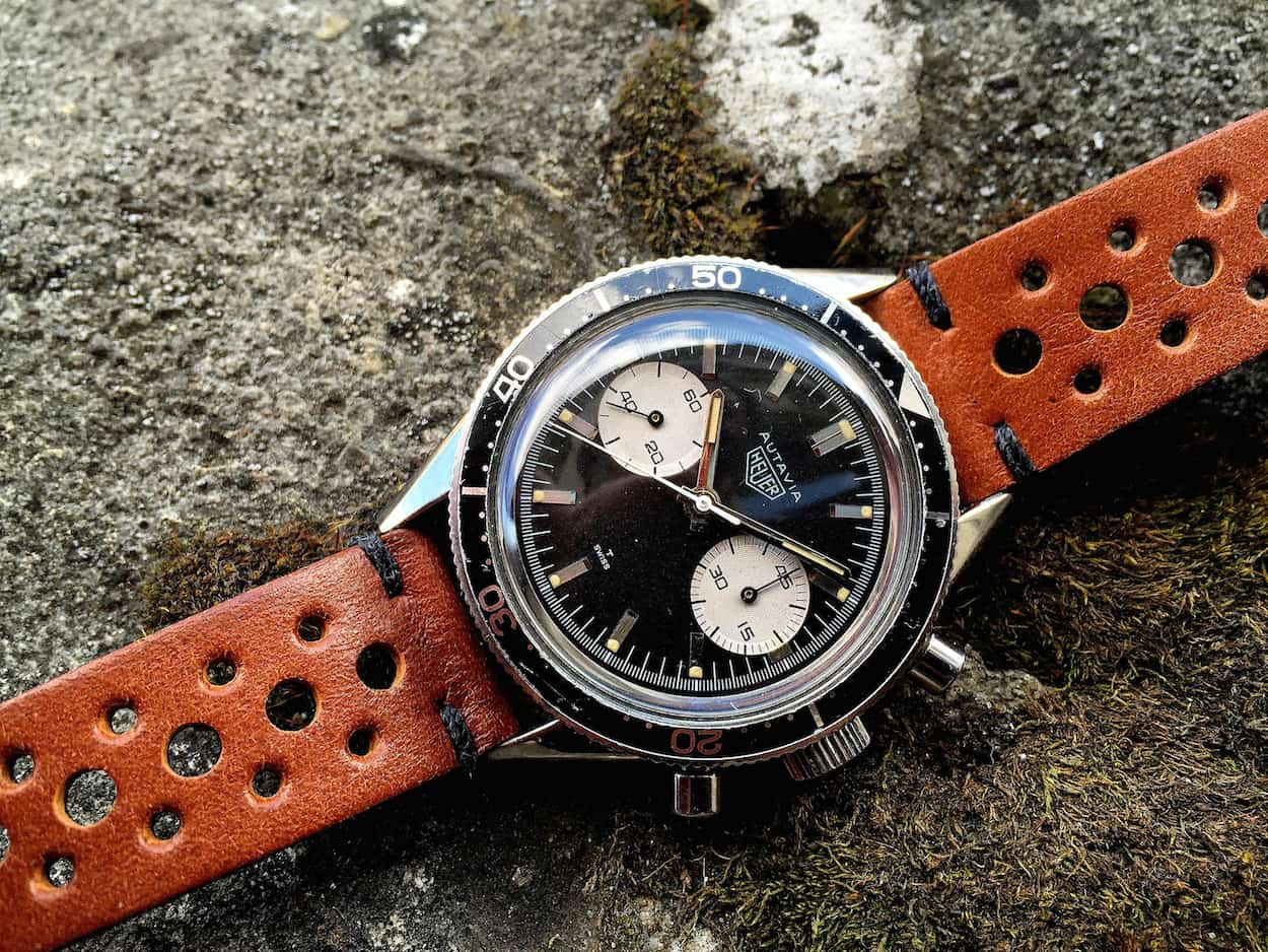 An example of a Heuer 3646 Andretti (photo credit: @watchfred)