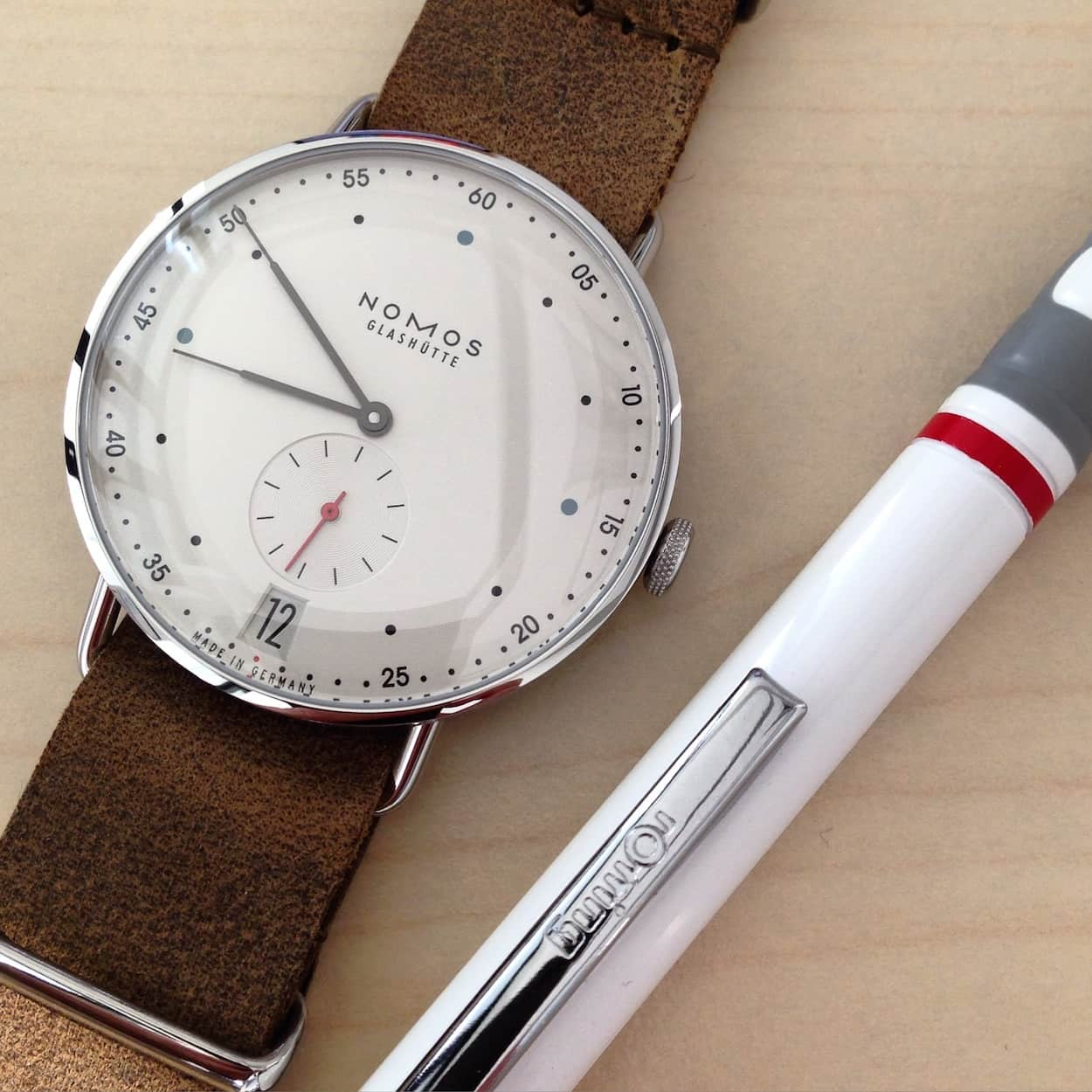 Hands-on: Nomos Metro 38 Datum