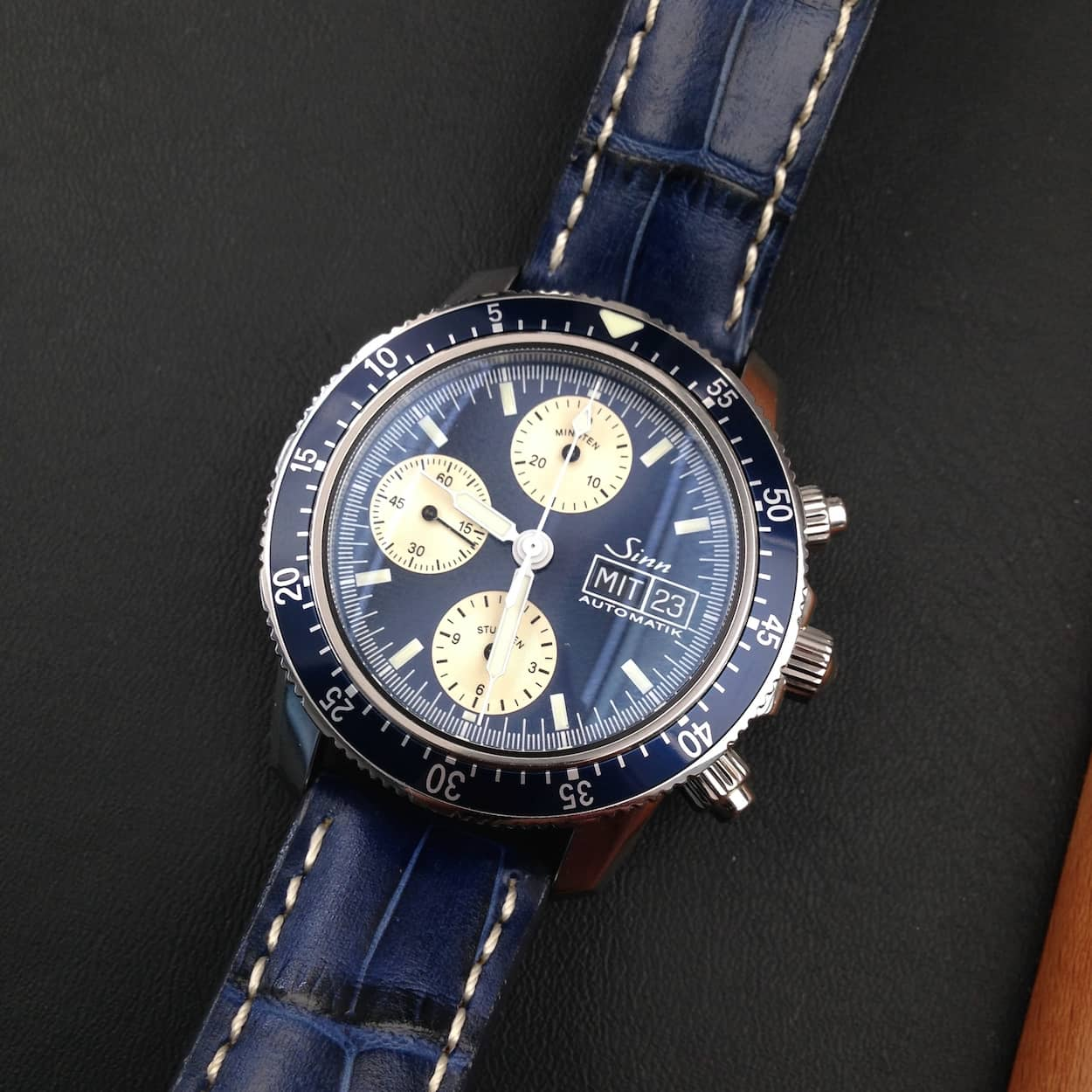 Sinn 103 in blue strap