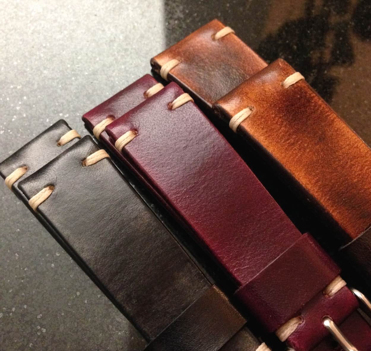 BCatt watch straps as received
