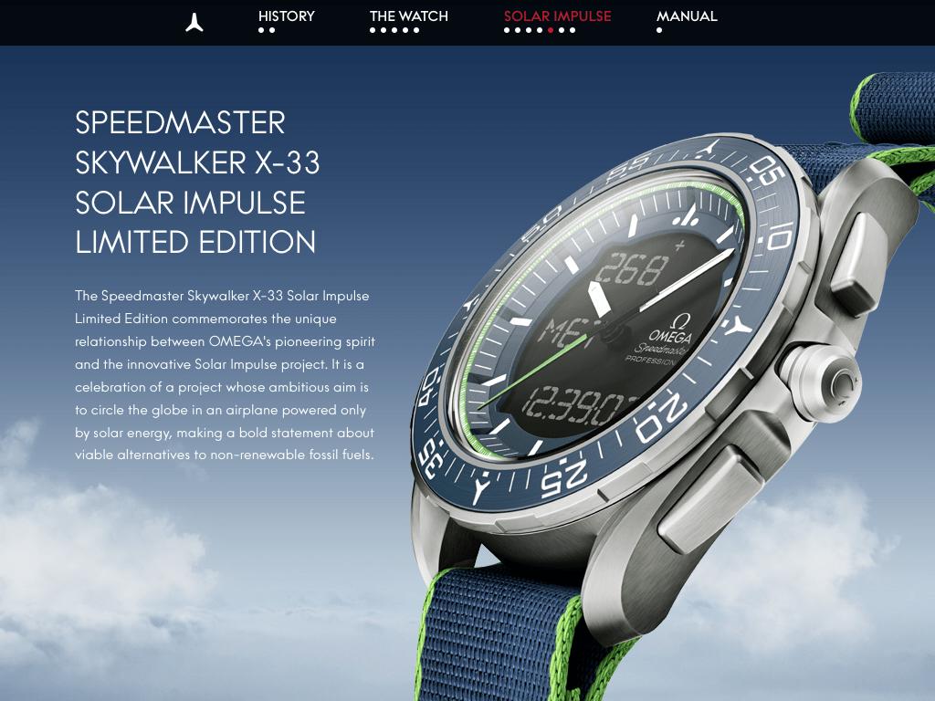 Speedy Tuesday - Omega Speedmaster Skywalker X-33 Solar Impulse Limited Edition