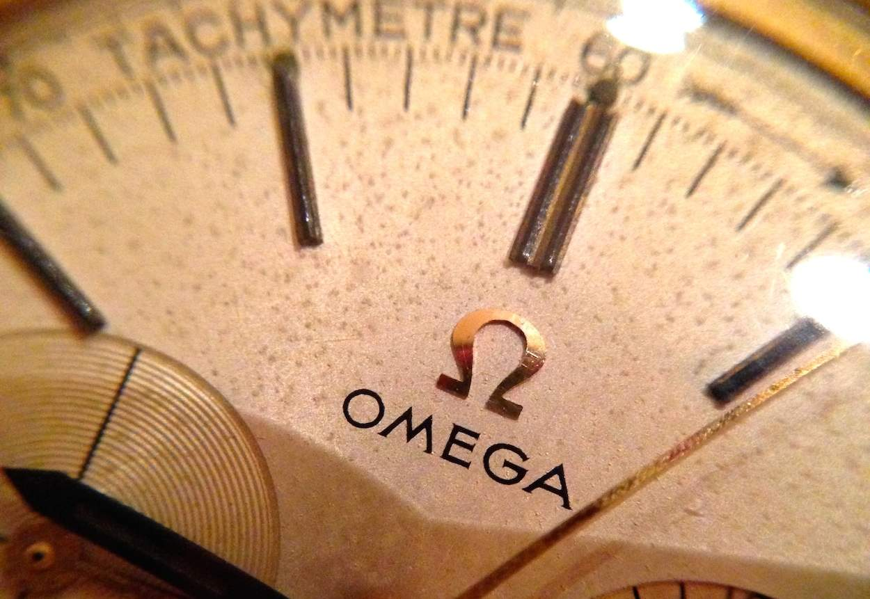 Because applied Omega logos aren't just for Speedmasters!