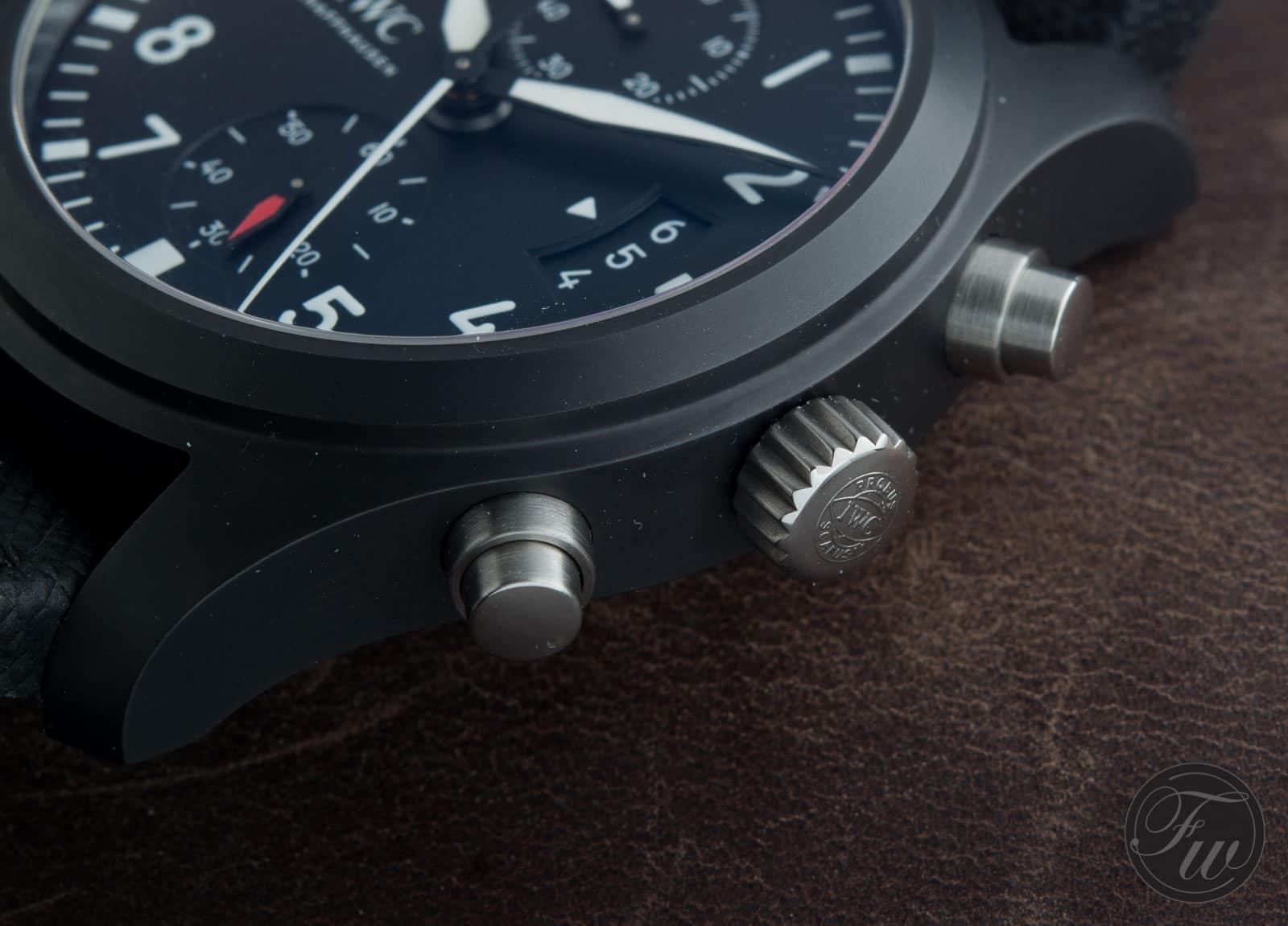 IWC Pilot Chronograph Top Gun