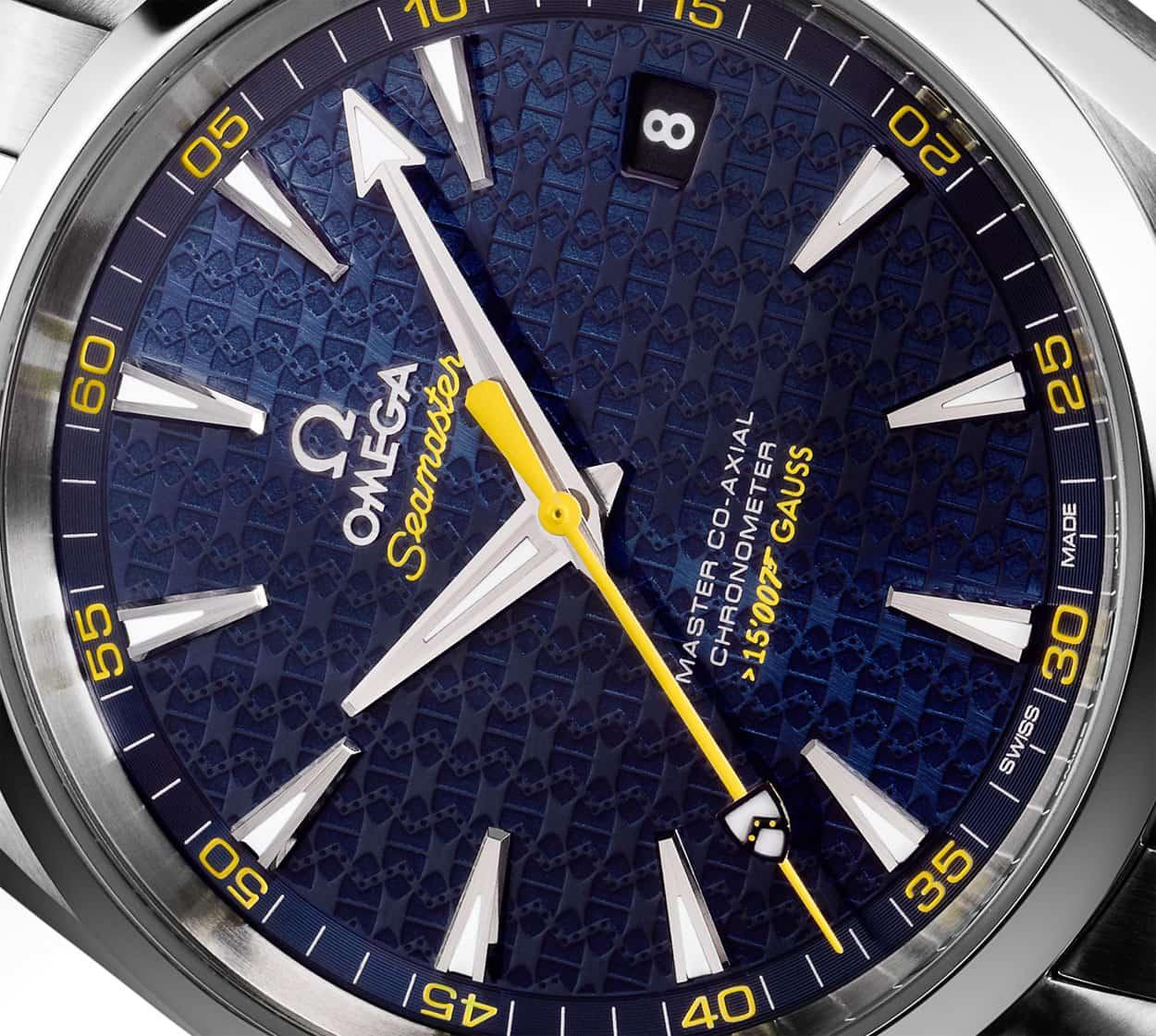 Omega Seamaster Aqua Terra James Bond Spectre Edition