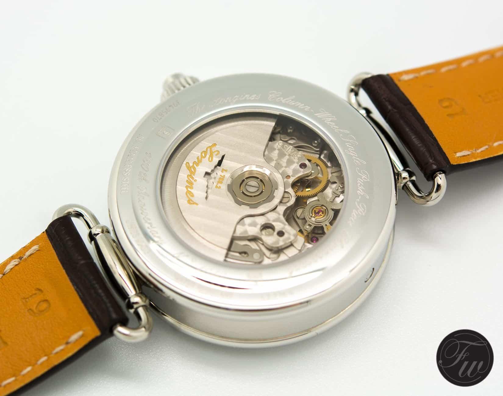 Longines Column-Wheel Single Push-Piece Chronograph
