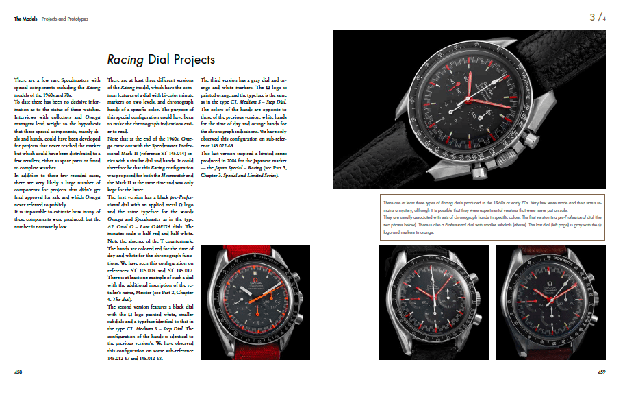Books like 'Moonwatch Only' could decrease the chance of meeting/creating Frankenwatch