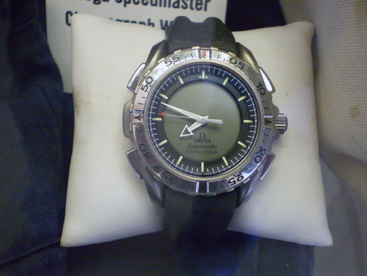 Speedmaster X-33 as one of the NASA artifacts