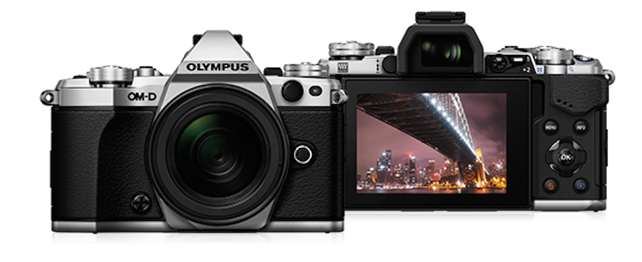 My new Olympus (picture courtesy of Olympus)
