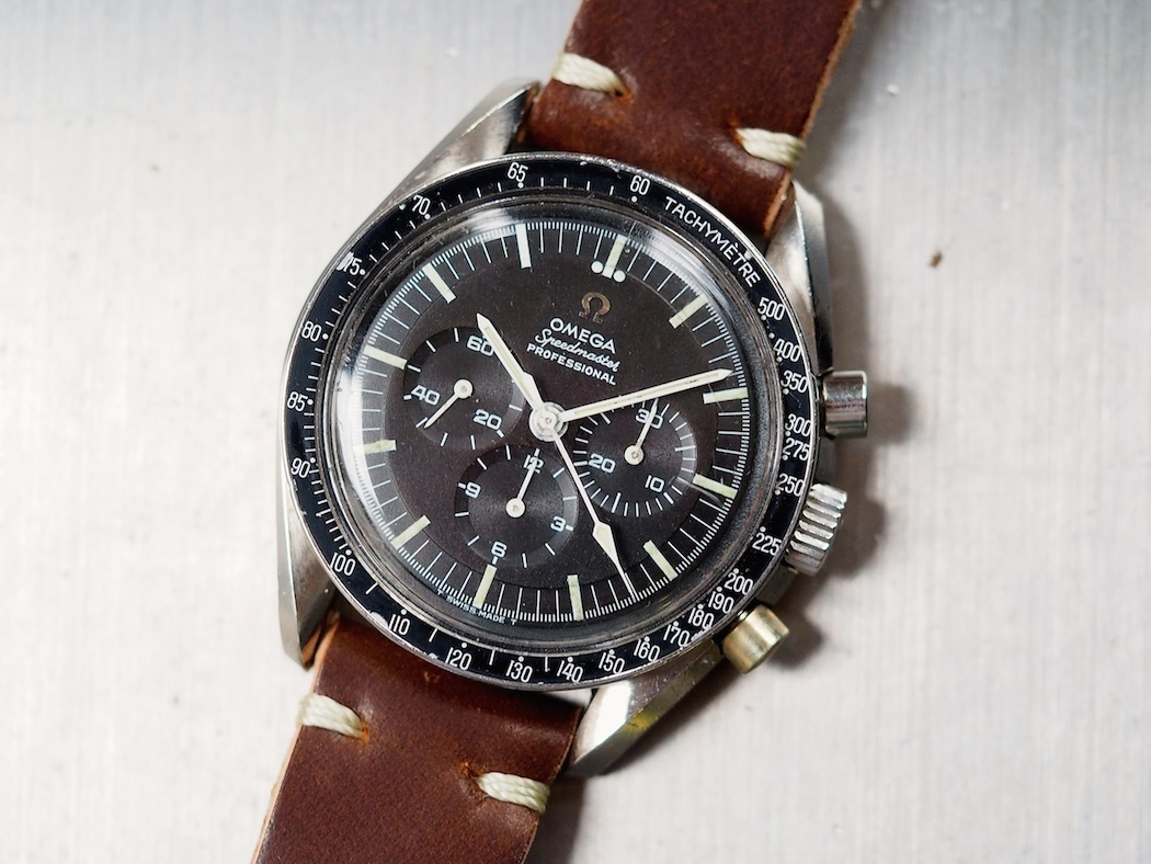 """An Omega Speedmaster 145.012 - the last """"Pre-Moon"""" with the cal.321 movement."""