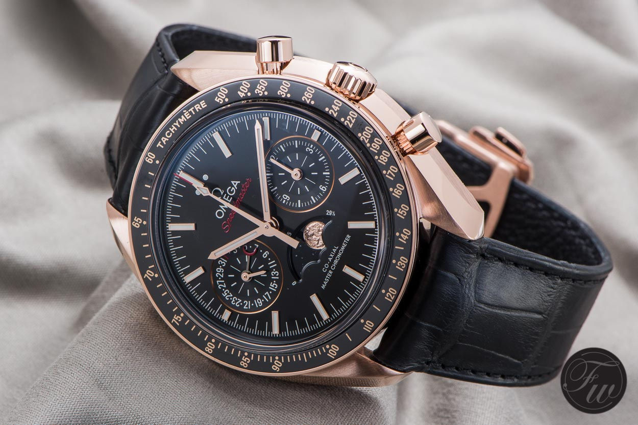Omega Speedmaster Moonphase Co-Axial Master Chronometer