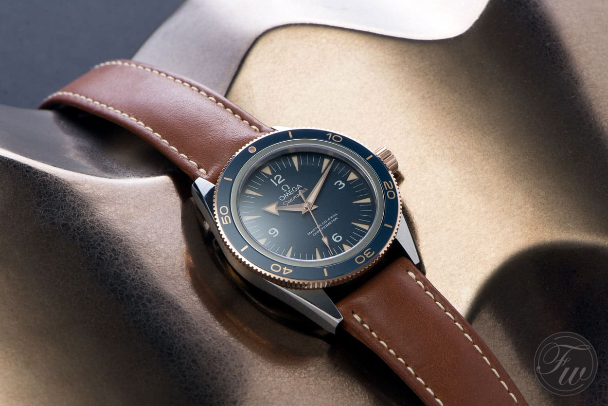 Hands On Omega Seamaster 300 Sedna Gold Review