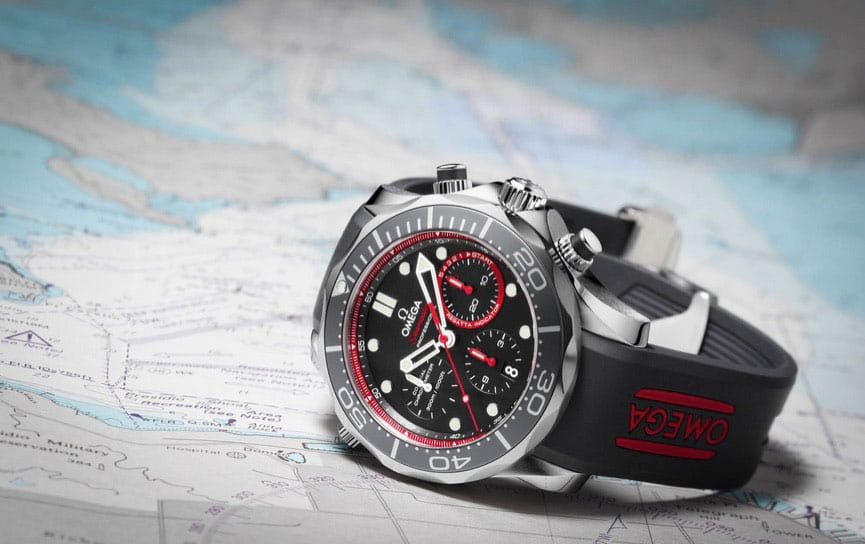 OMEGA Seamaster Diver 300 M Introduces New ETNZ