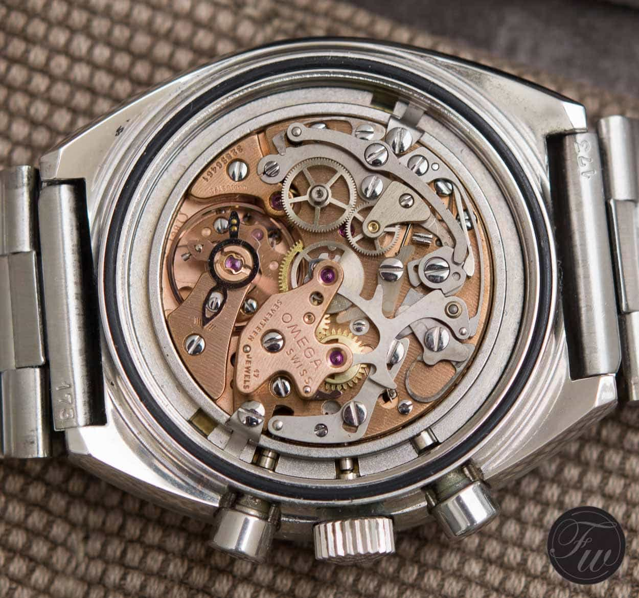Omega Speedmaster Mark II 145.014 movement caliber 861