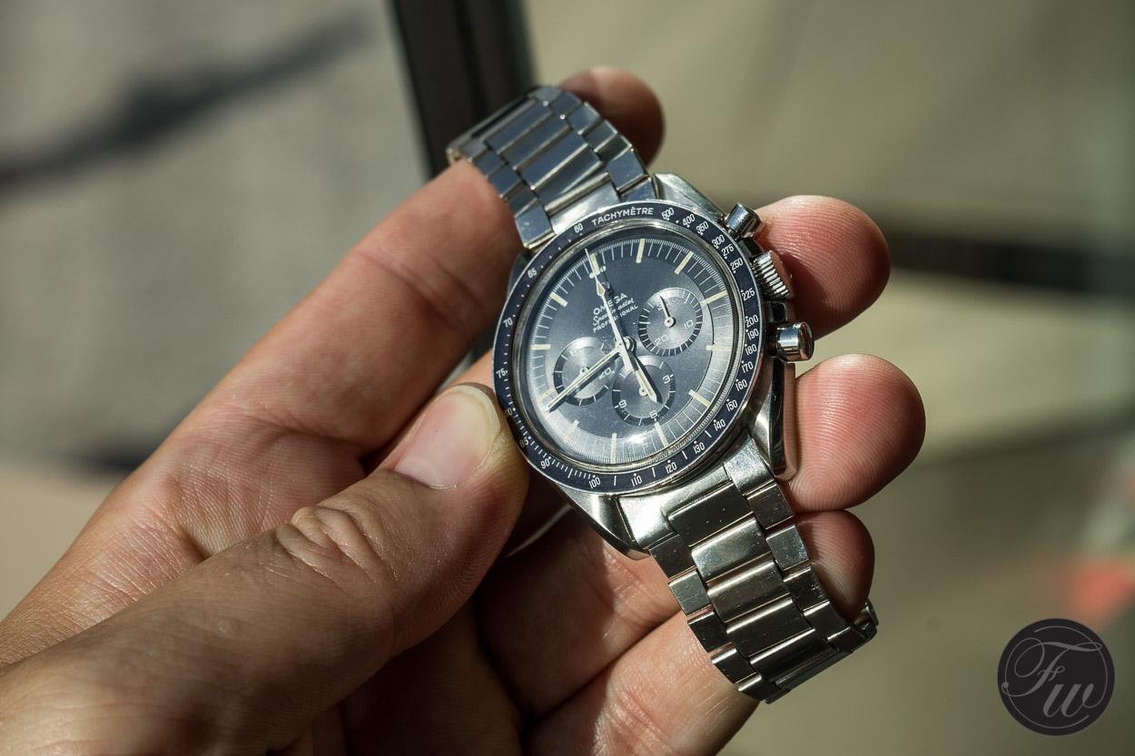 Omega Speedmaster Professional 105.012-65 Blue Dial