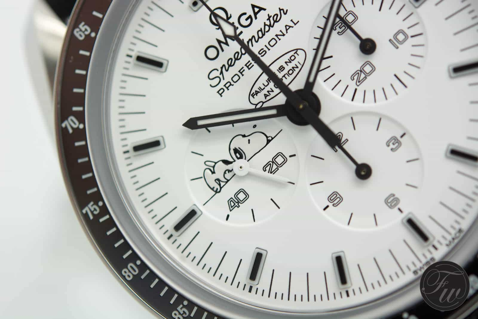 White Dial Speedmaster Apollo 13 Silver Snoopy Award