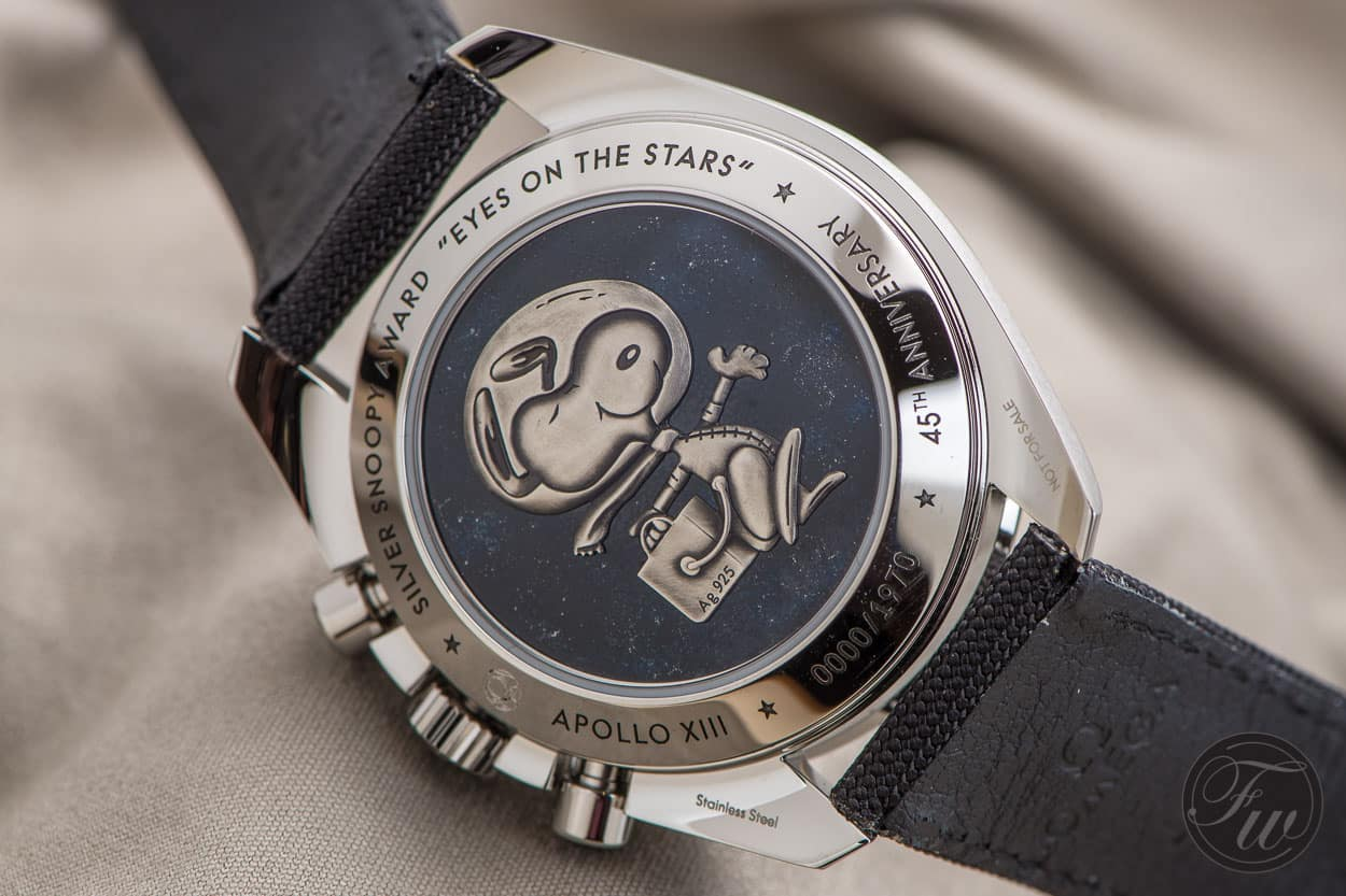 Top 5 Omega Speedmaster Watches - Silver Snoopy Award