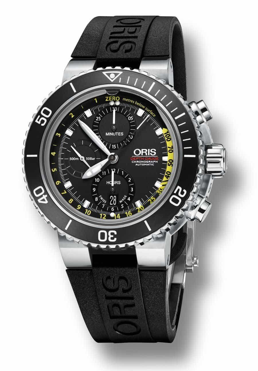 Diving Watches - Oris Aquis Depth Gauge