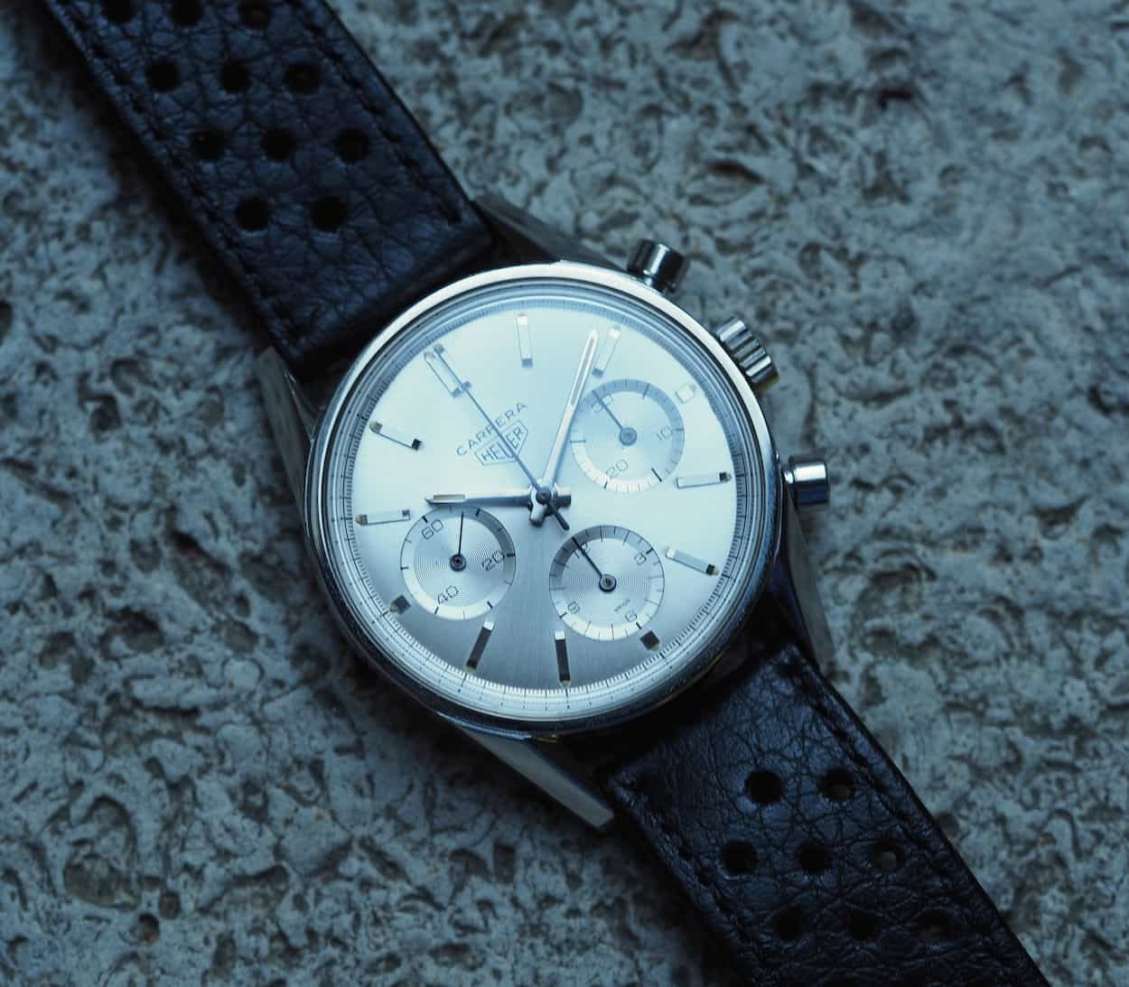 The Heuer Carrera 2447S after dawn