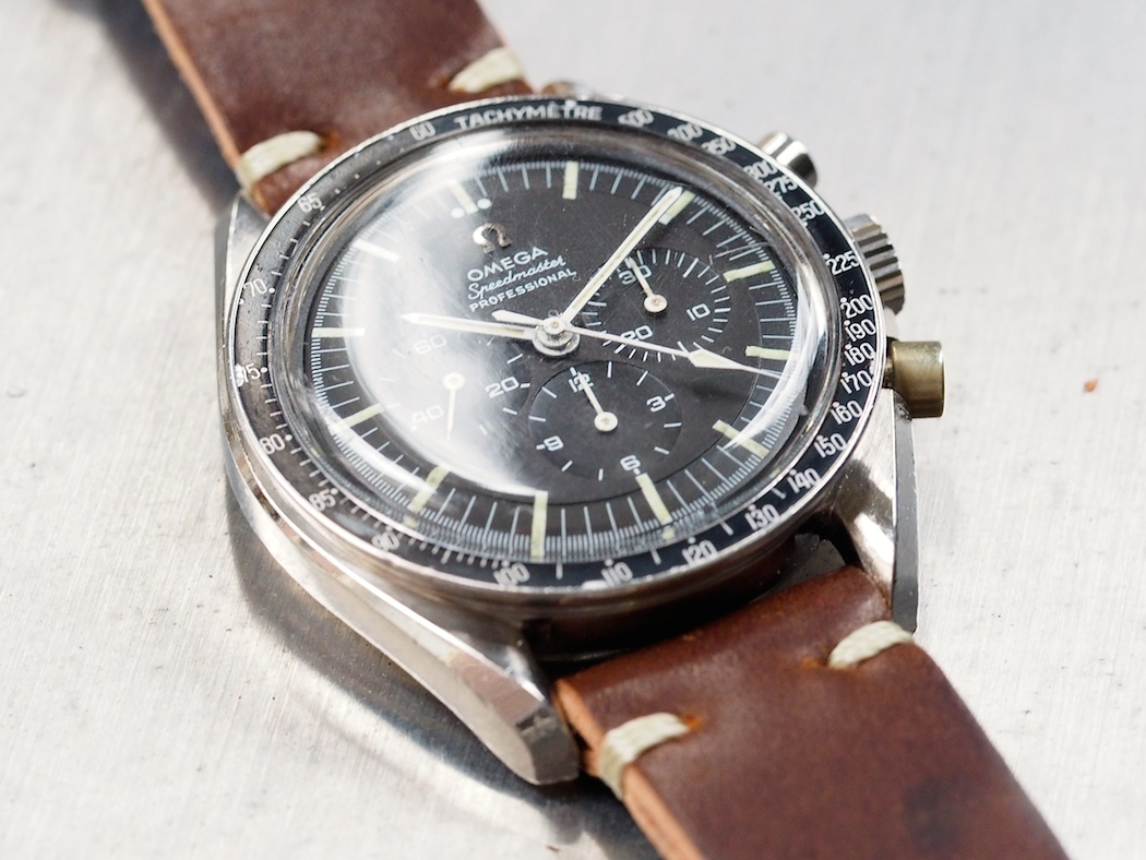On a strap, the Omega Speedmaster 145.012 exposes some very deeply curved lugs - I really wanted to own one of these