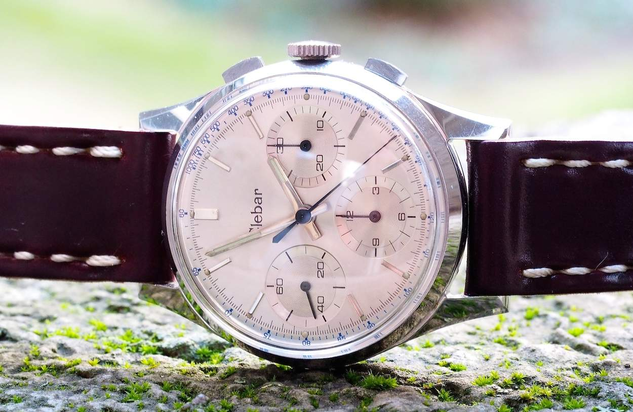 The Clebar chronograph...a value-laden piece in today's marketplace