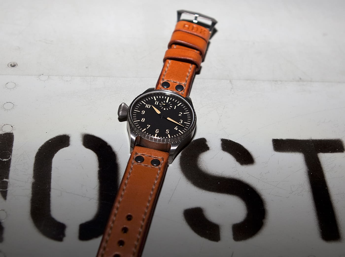 The P1lot One...a watch created and released by a forum