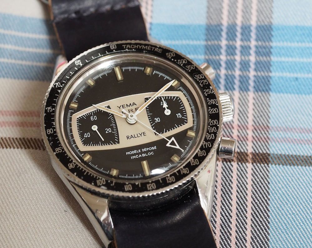 "A ""Dot Over Ninety"" bezel is a nice feature on the Yema Rallye"
