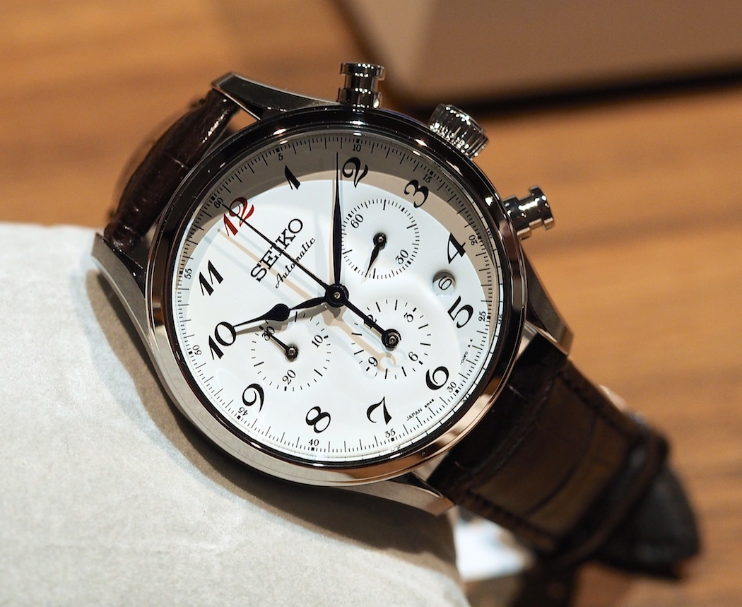 The Seiko Presage 60th Anniversary with enamel dial