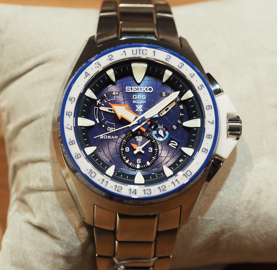 A surprising favorite of mine...the Seiko Prospex Marinemaster GPS Solar Dual-Time...made for sailing