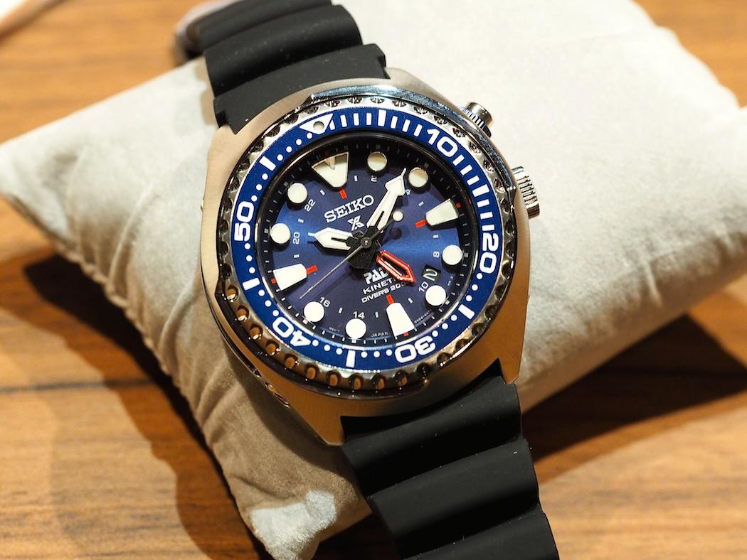 The Seiko Prospex PADI Kinetic Diver