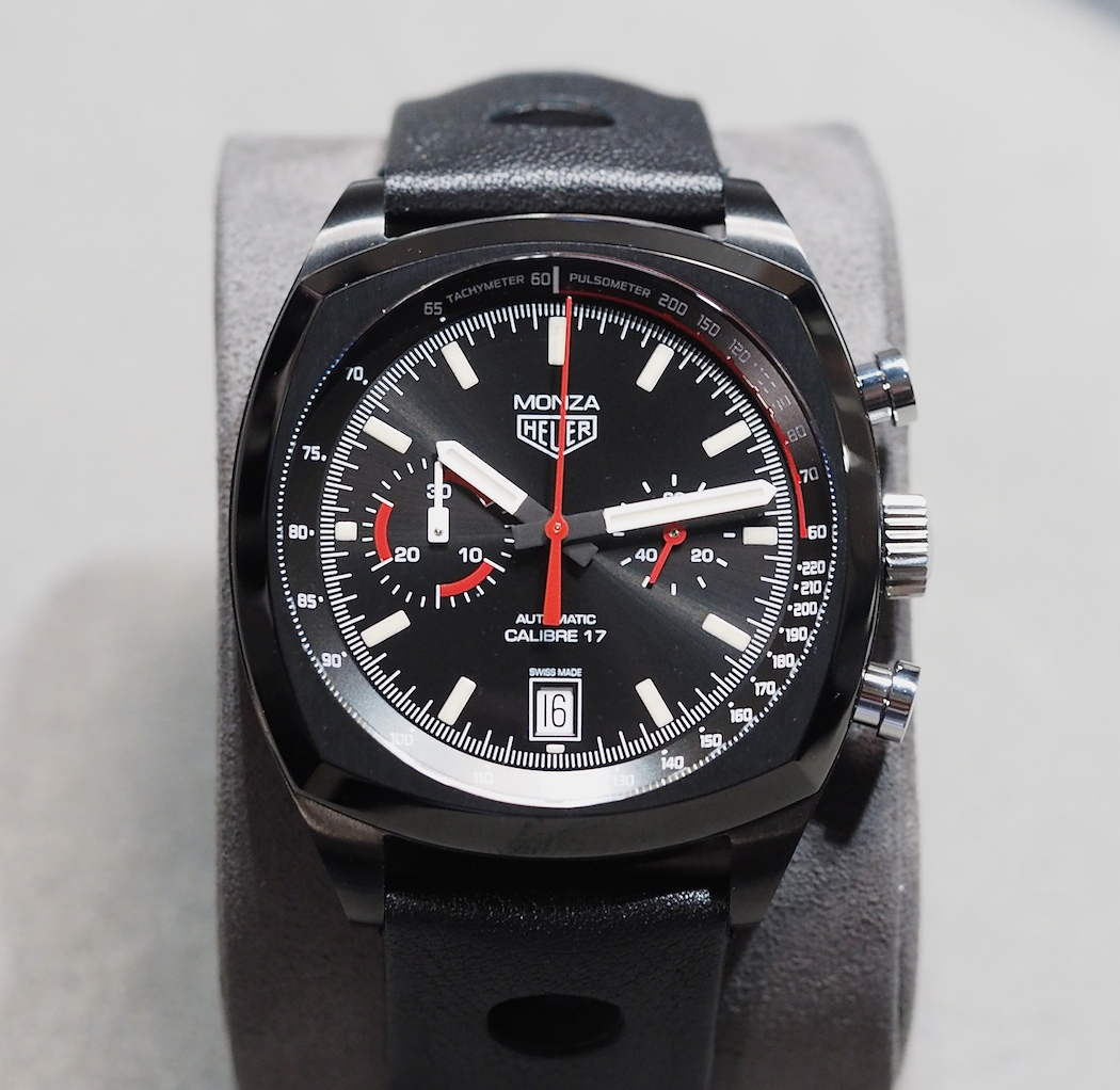 Head on with the new TAG Heuer Monza