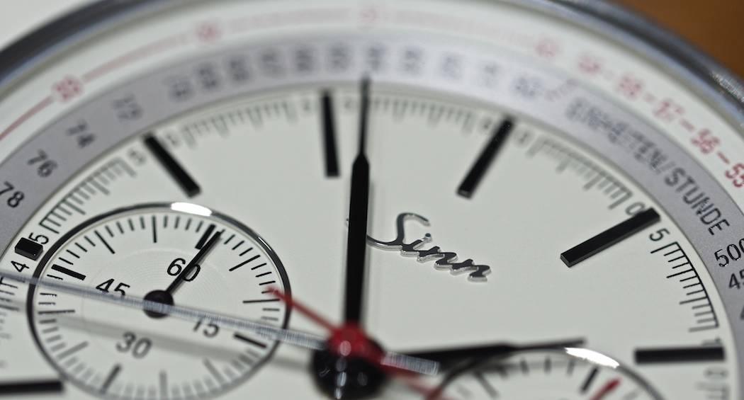 Sinn at Baselworld 2016: 910 Anniversary dial details
