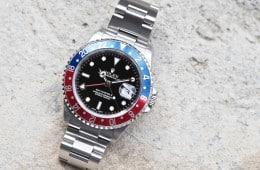 Rolex 16710 GMT-Master II cover shot