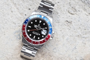Rolex 16710 GMT-Master II cover shot