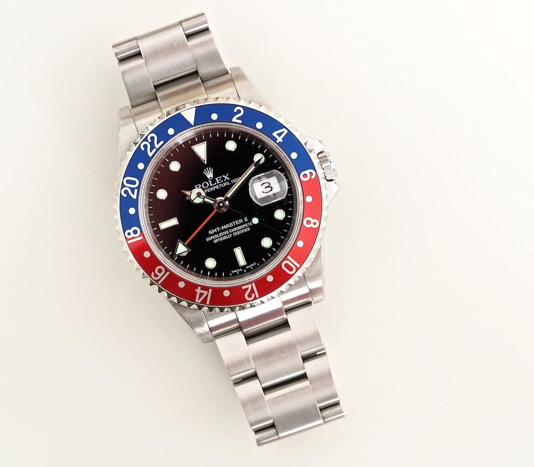 Rolex GMT-Master II 16710 is purposeful