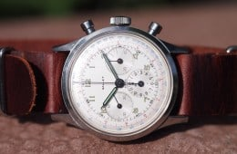 Gallet Multichron on side