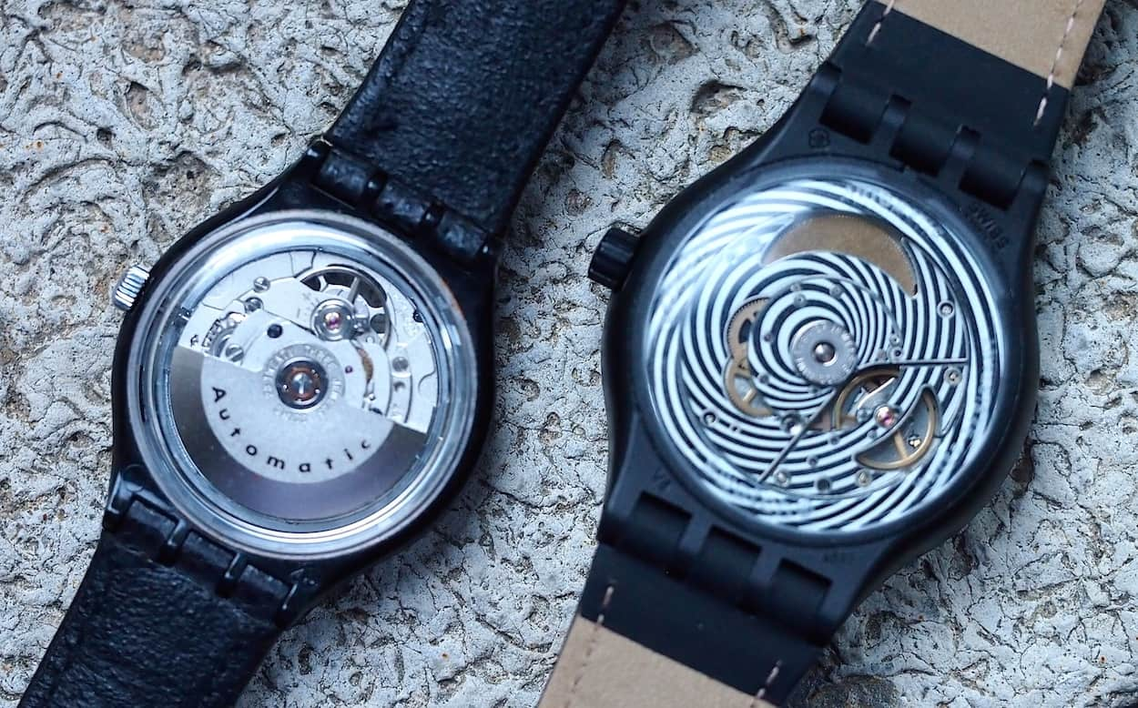 Swatch Automatic and Sistem 51 movements