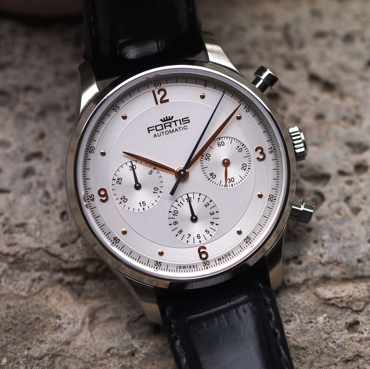 Fortis Tycoon dial