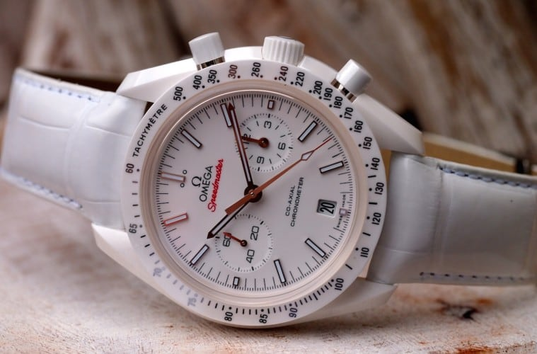 Speedy Tuesday The Omega Speedmaster White Side Of The Moon