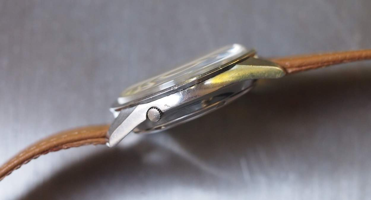 Seiko Sportsmatic side view