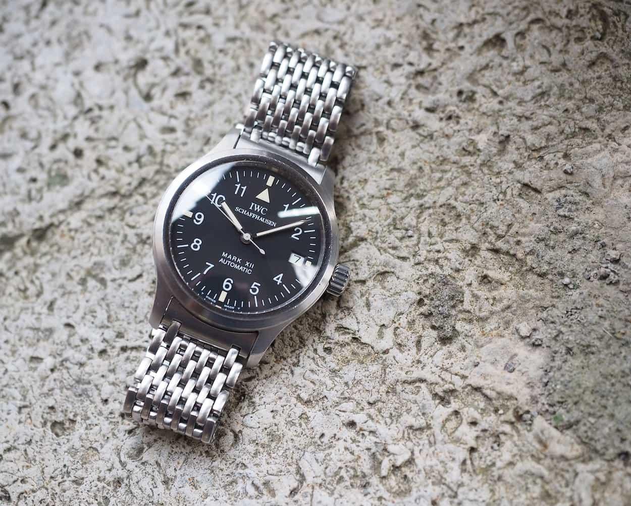 Watch marks on wrist - Iwc Mark Xii Simple Design