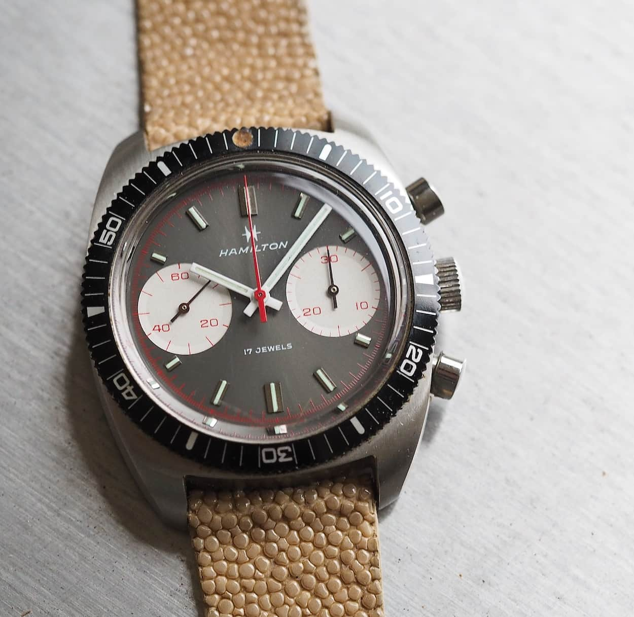 Hamilton Chrono-Diver was rated to 666 feet
