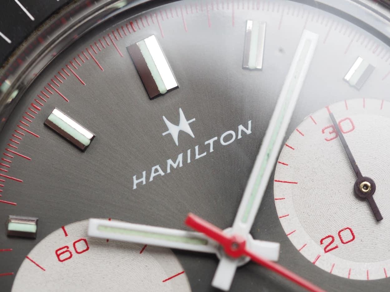 Hamilton Chrono-Diver grey dial