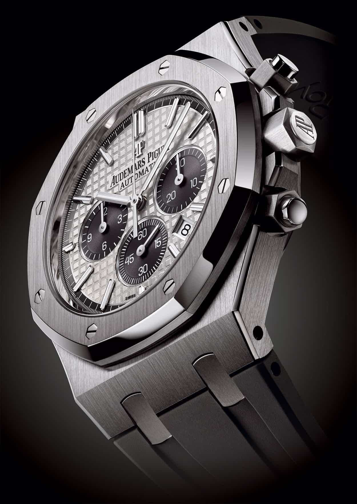 Audemars piguet royal oak chronograph qeii for Audemars watches