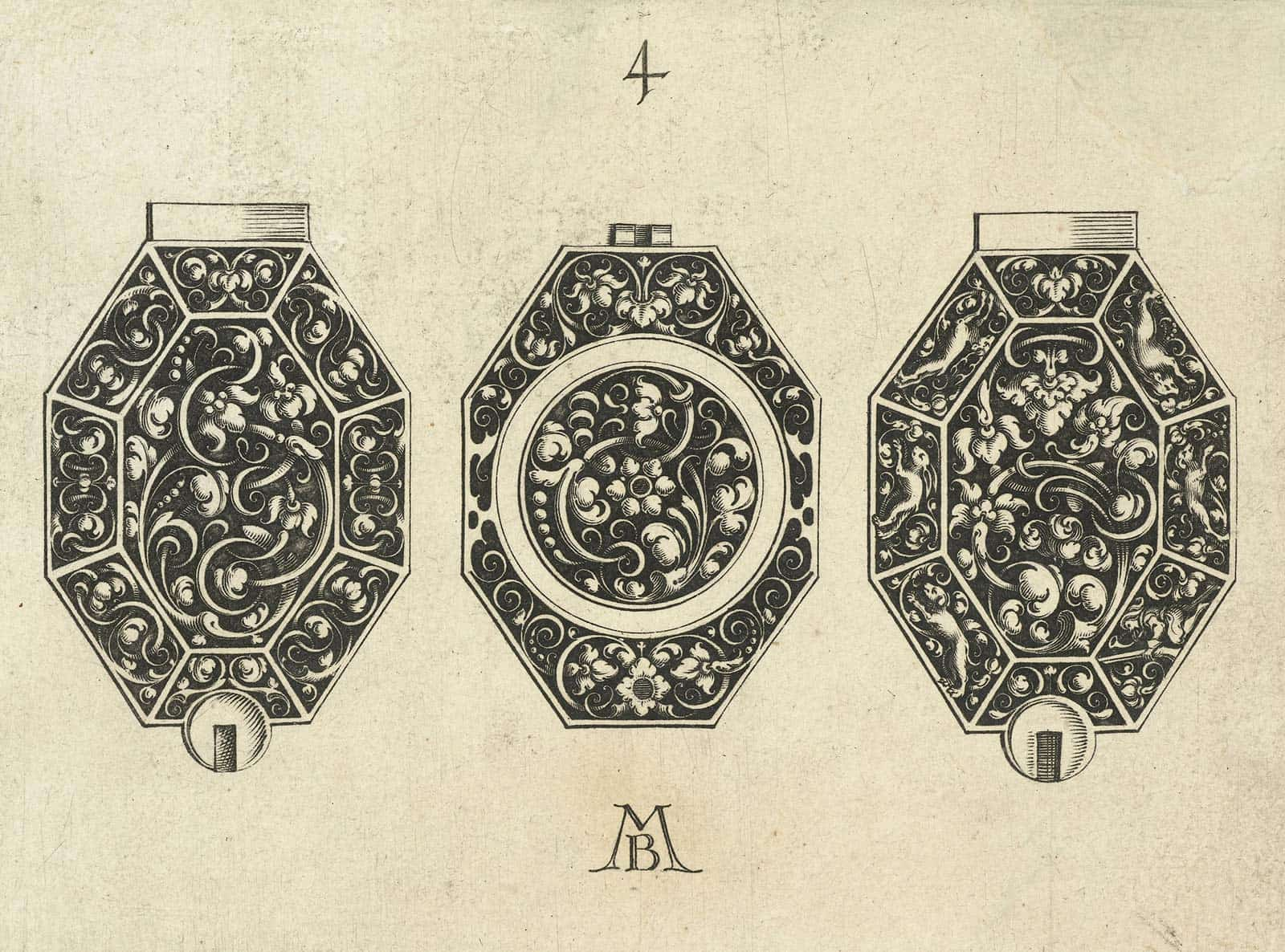 Dial and case design etching