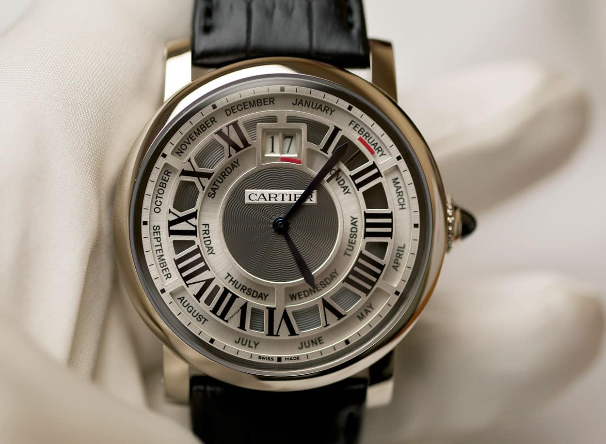 Cartier Rotonde Annual Calendar