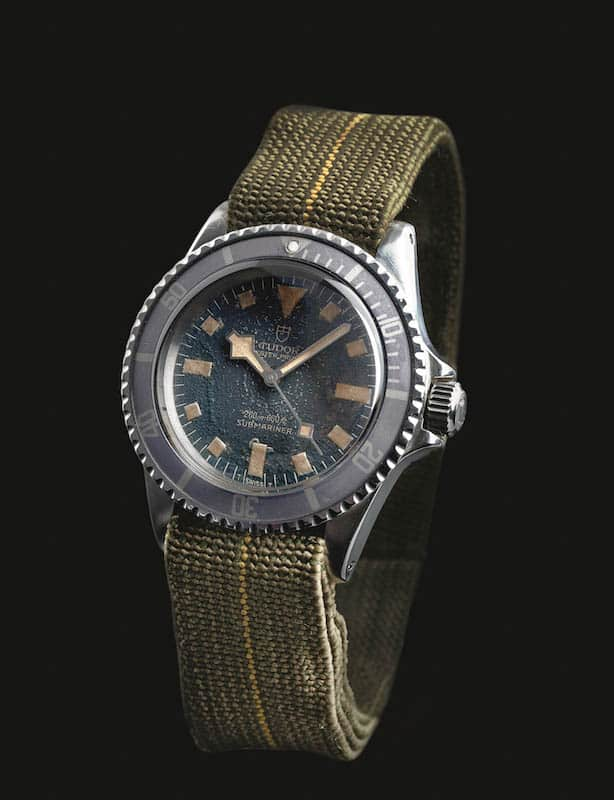 Tudor Submariner - Military issued model from their own collection
