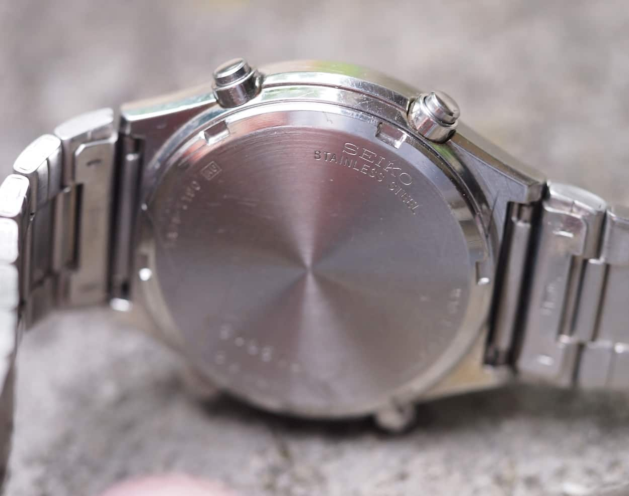 Seiko 7A38 case back