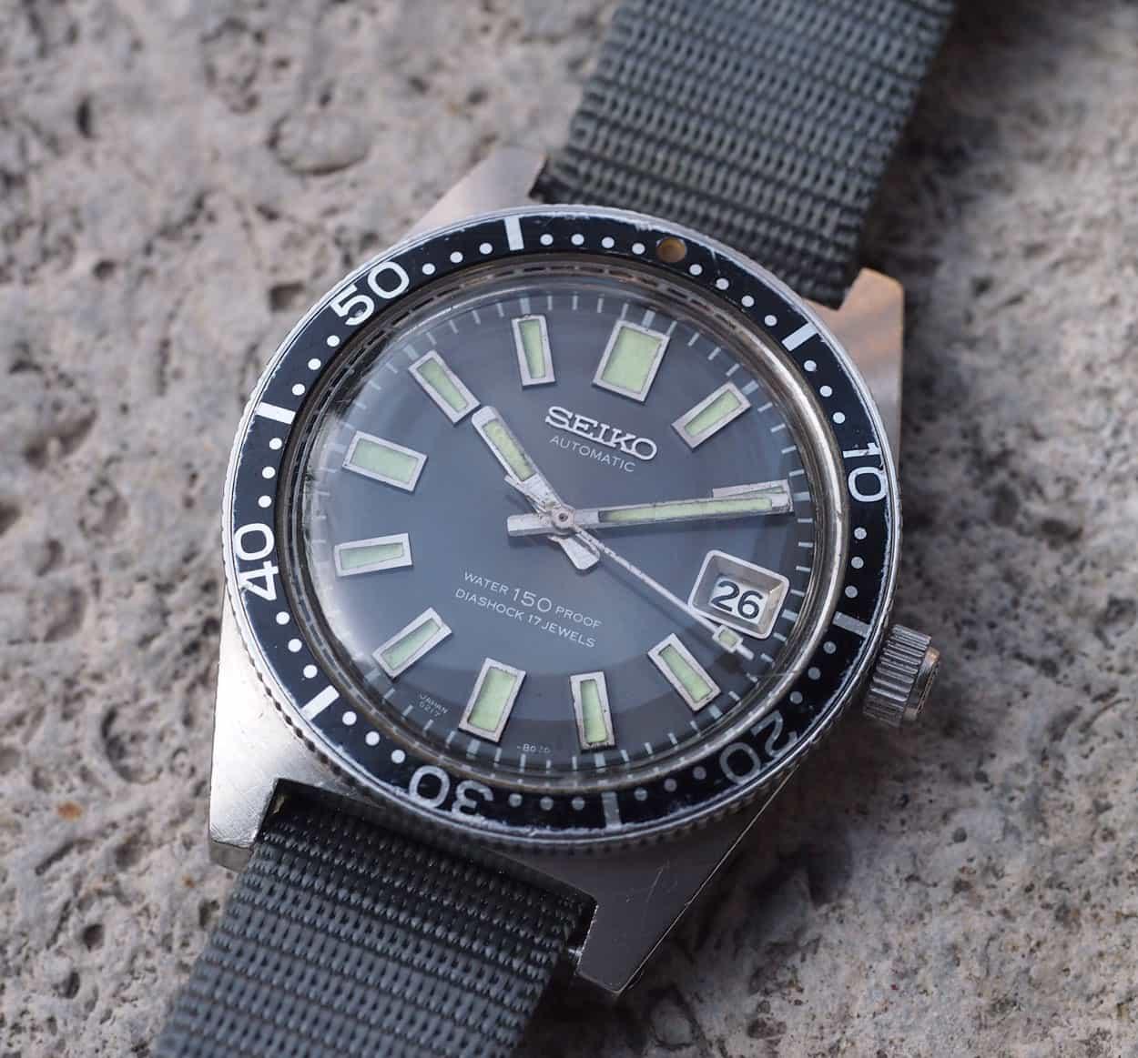Seiko divers watch 62MAS